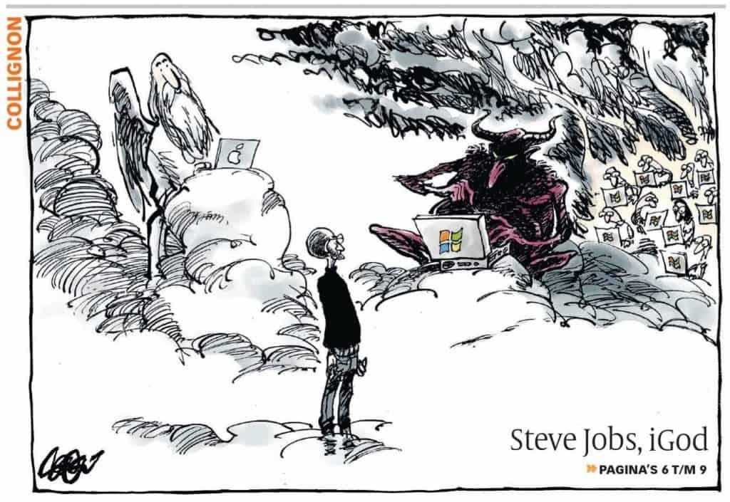 Jos Collignon over Steve Jobs