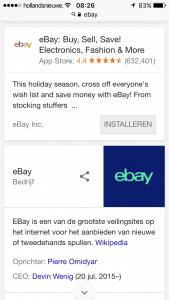 Ebay-app