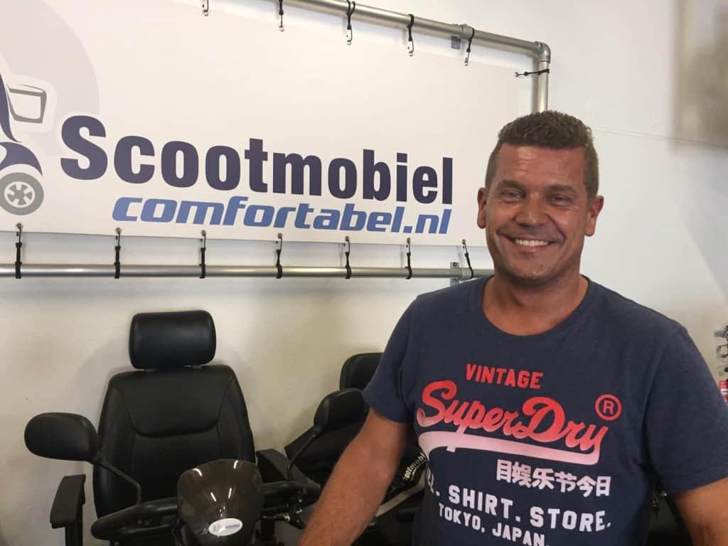 Olof Geurts van Scootmobiel Comfortabel